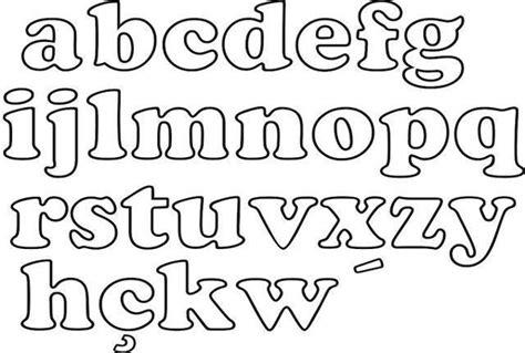 moldes de letras mayusculas y minusculas para imprimir y recortar molde de letras para imprimir artesanato passo a passo