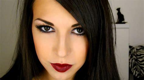 imagenes ojos oscuros maquillaje oscuro para ojos y labios ssweetcriss
