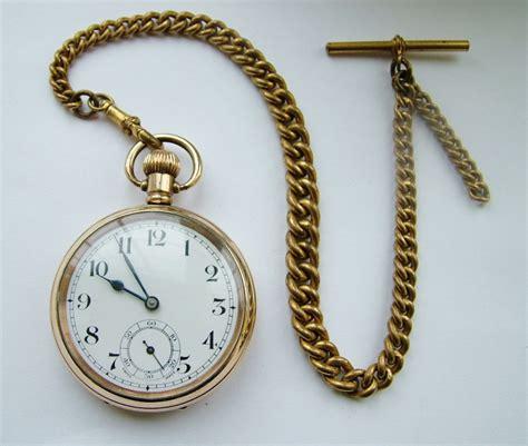 vintage 1920s swiss pocket chain 304086