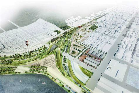 urban design competition winners kaohsiung port station urban design competition ager