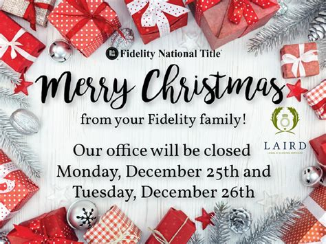 merry christmas   fidelity family  laird law firm