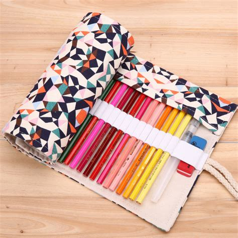 pattern for fabric pencil case aliexpress com buy 36 48 72 holes fashion stereo grid
