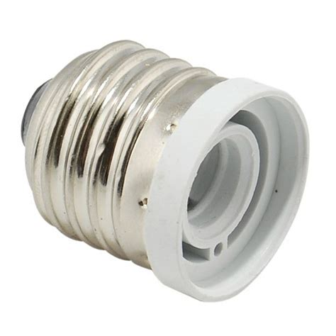 light bulb socket adapter medium base e26 to candelabra