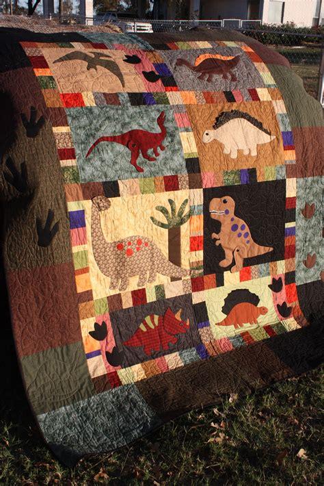 Dinosaur Quilt by Scant Quarter Inch Royce S Dinosaur Quilt
