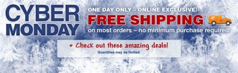 cyber monday canada home depot deals plus free shipping