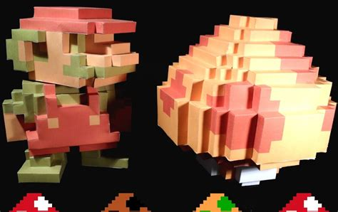 Ultimate Papercraft 3d - ultimate papercraft 3d 8 bit
