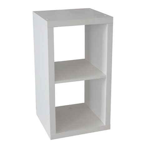 cube storage unit flexi storage 1 x 2 white clever cube storage unit