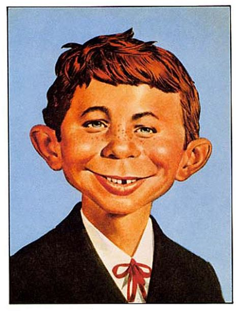 alfred newman mad magazine alfred e neuman by norman mingo cartoons comics