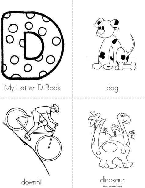 Letter Book My Letter D Book Twisty Noodle