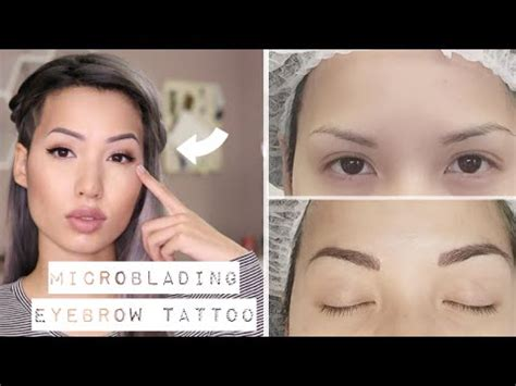 japanese tattoo eyebrow my quot natural quot eyebrow tattoo experience microblading