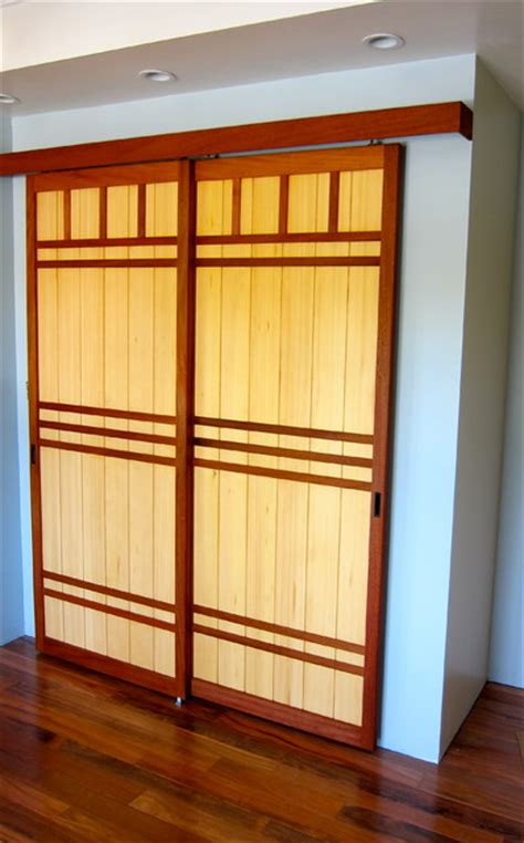 Japanese Sliding Closet Doors Japanese Amado Door Asian Closet San Francisco By Pacific Shoji Works