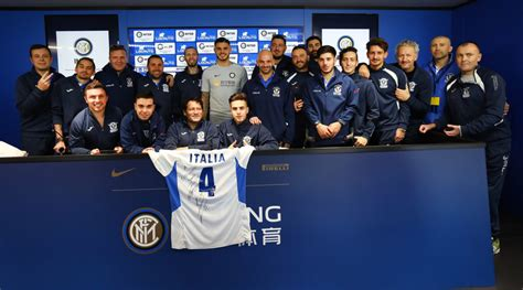 nazionale lavoro como fondi l sp academy ospita la nazionale italiana calcio