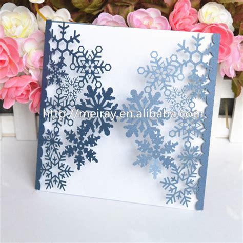 Winter Hochzeitseinladungen by Wedding Cards For Winter Wedding Blue Sea Blue Laser