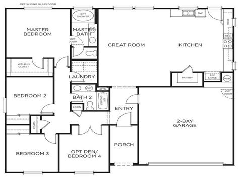 modern floor plans for new homes ideas new home floor plan generator floor plan generator