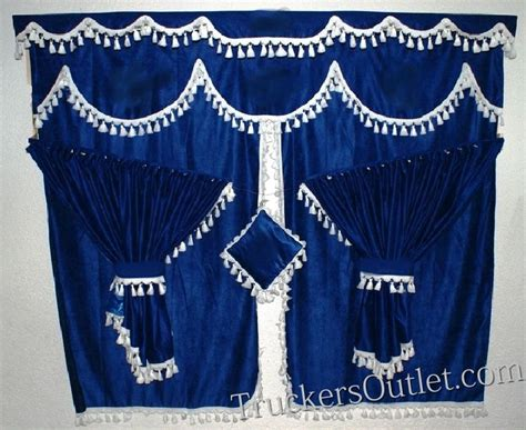 volvo truck curtains curtain set truck interior www truckers shop com