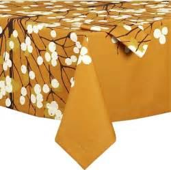 marimekko lumimarja orange tablecloth modern