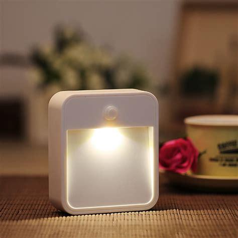 battery powered wireless pir motion sensor led night light