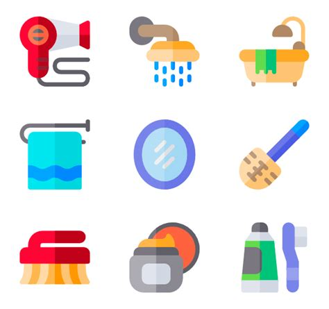 bathroom icons bath icons 1 366 free vector icons