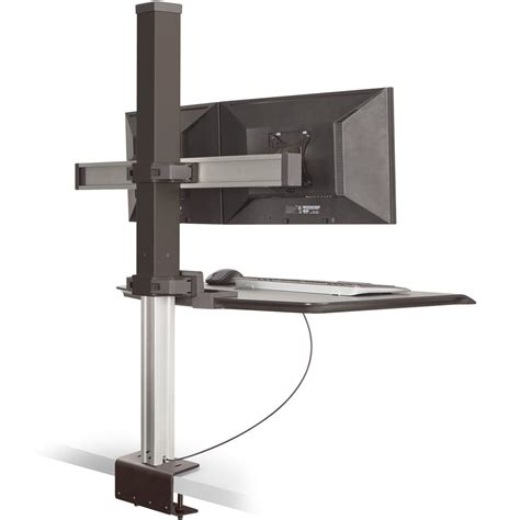 winston stand up desk innovative winston dual monitor sit stand workstation