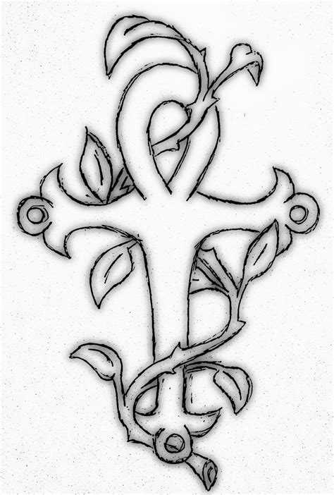 vine leaf tattoo designs ankh images designs