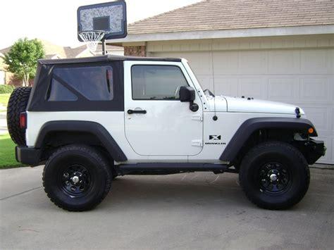 jeep wrangler 2 door hardtop white 2007 2009 jeep wrangler 2 door replacement top with