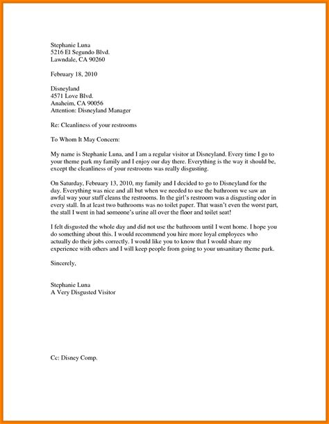 business letter sles for students 6 exle of business letter for students quote templates