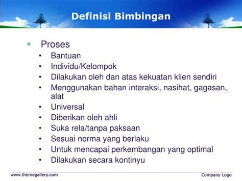 dasar dasar bimbingan ppt dasar dasar bimbingan dan konseling powerpoint