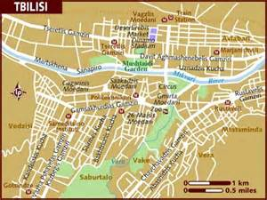 map of tbilisi