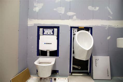 American Standard Vanity Top Wall Hung Toilet American Standard Waterless Urinal Both