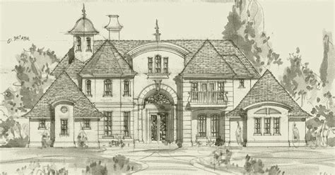 french country house plans 2012 country french style house plans house plans