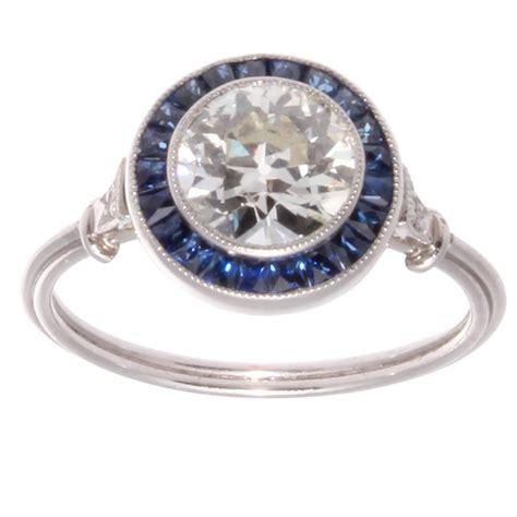 approximately 1 10 carat sapphire platinum