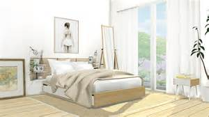 Bedroom Sets Ikea My Sims 4 Ikea Mandal Bedroom Set By Mxims