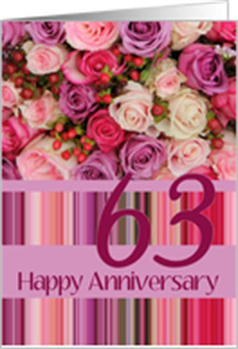 63rd Wedding Anniversary Cards from Greeting Card Universe