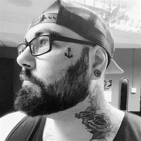 small tattoos on face 90 tattoos for masculine design ideas