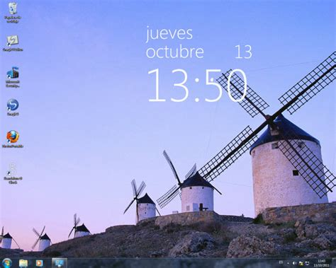 horloge bureau windows 8 windows 8 clock descargar