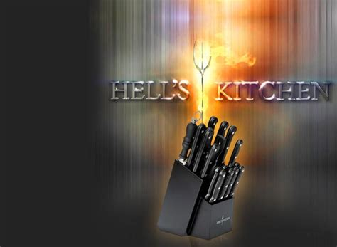 hells kitchen knife block set 18 65