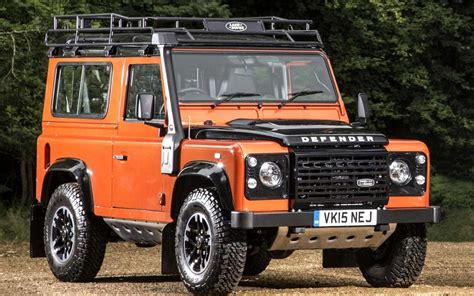 land rover defender 90 lifted land rover defender farewell drive