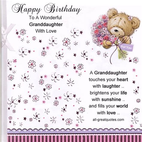 cards grandchildren happy birthday wishes for your messages poems and