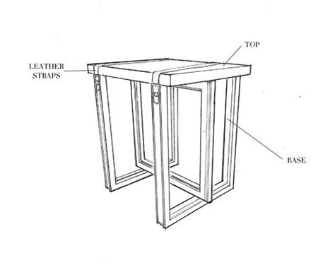 sketchbook on table side table no four sketch disegni technical drawings