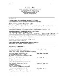 Sle Physical Therapy Resume by Assistant Physiotherapist Resume Sales Therapist Lewesmr