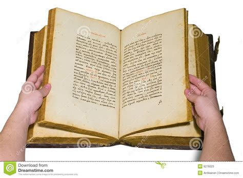 arms are turn over the pages of opened old book stock photos image 9276023