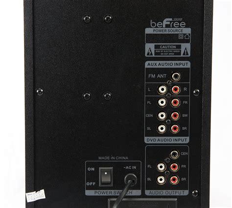 befree bluetooth  channel surround sound speaker system