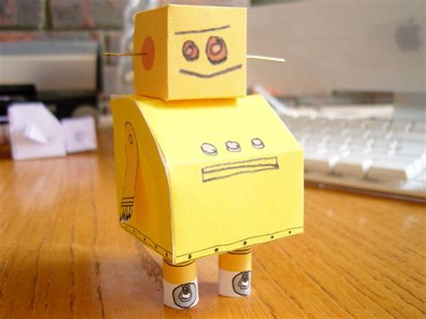 How To Make A Simple Robot With Paper - your robot