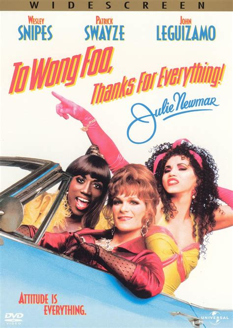 thanks for everything julie newmar to wong foo movie to wong foo thanks for everything julie newmar movie