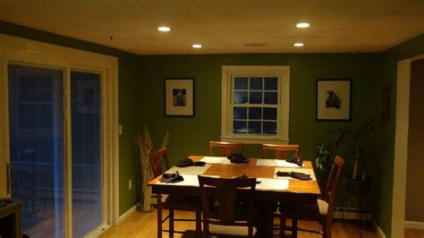recessed lighting dining rooms dining room recessed