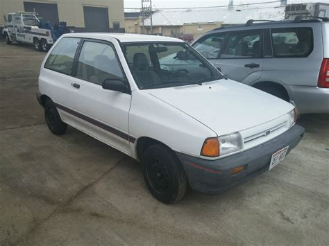 1989 ford festiva low miles hatchback 2 door 1 3l for sale in germantown wisconsin united states