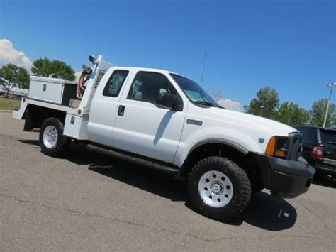 auto air conditioning service 2007 ford f250 electronic throttle control sell used 2007 ford f 250 supercab long bed utility work service body custom v10 body box in