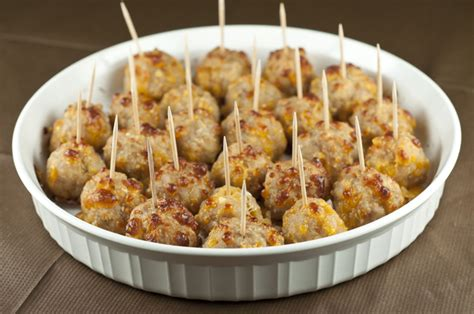 make ahead new year recipes sausage cheese balls wishes and dishes