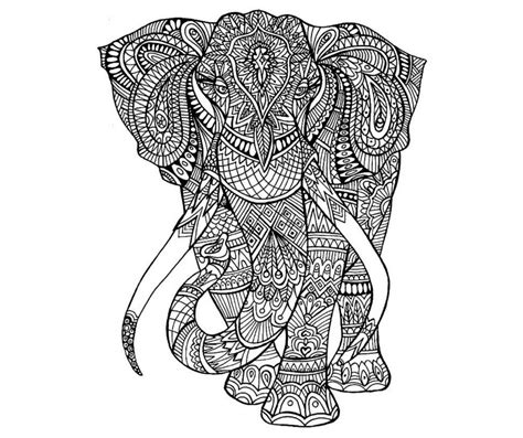 elephant mandala coloring pages easy easy mandala coloring pages elephant easy best free