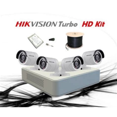 Kamera Cctv Outdoor Turbo Hd 20 Mp Hd Hybrid 4 In 1 1080p hikvision 4 ch turbo hd kit embedded dvr 4 x hd720p